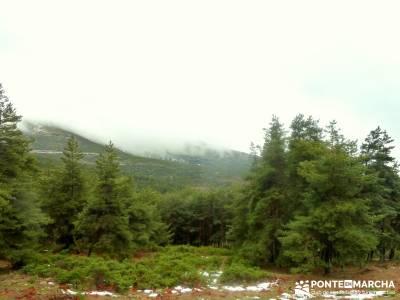 Pico Cebollera, Cebollera Vieja o Pico Tres Provincias; pantano de san juan sierra cazorla agencias